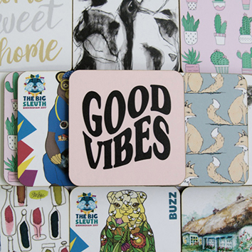 Good Vibes_Bespoke Coasters